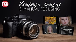Fujifilm X-T3: Using vintage lenses and manual focusing options