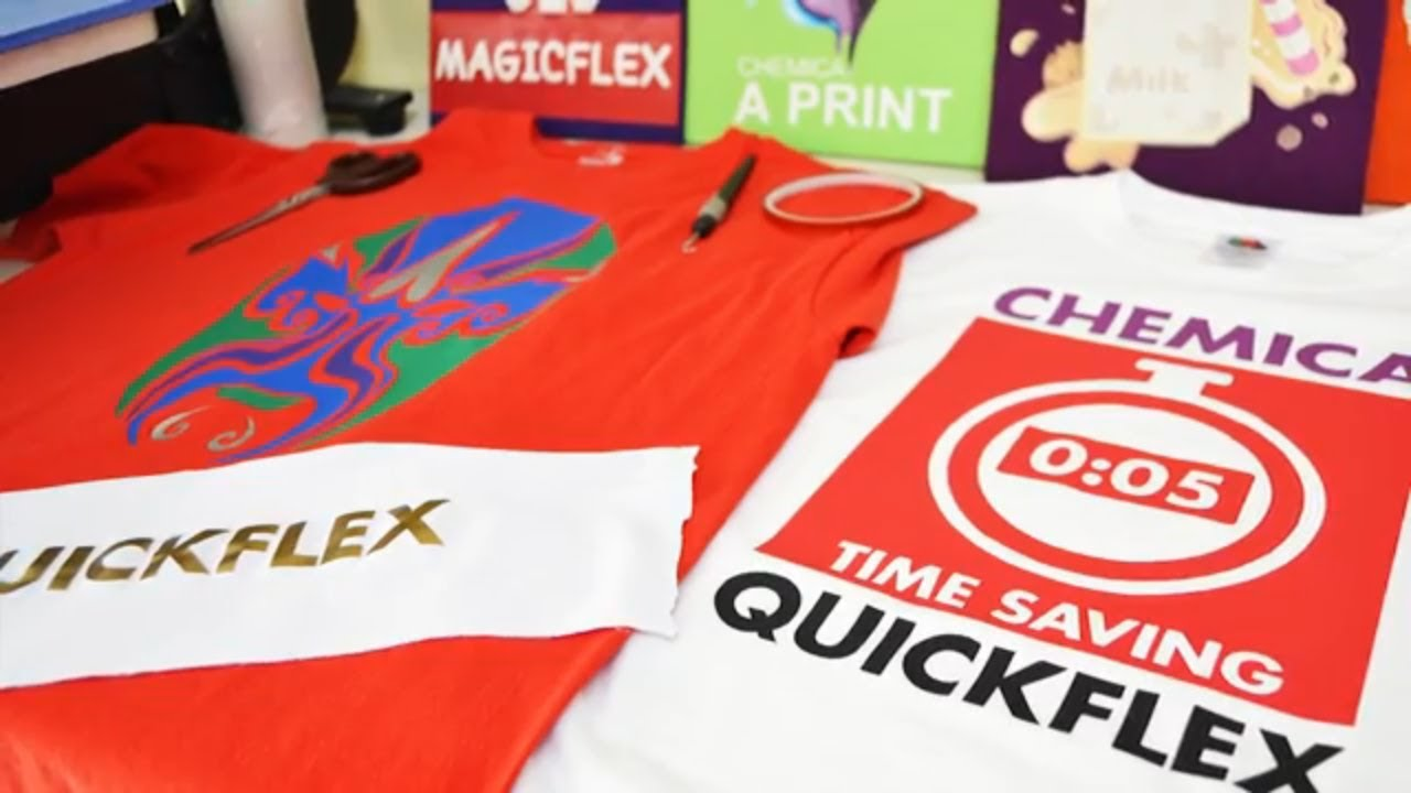 Simple Ways To Apply Vinyl Sticker For Tshirt Printing Business