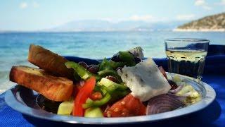 #Греческий_Салат #Греческая кухня