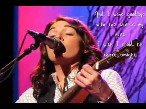 Brandi Carlile - Downpour w/ Lyrics on screen