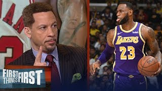 Chris Broussard reacts to LeBron passing MJ on the all-time scoring list | NBA | FIRST THINGS FIRST