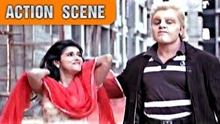 Kamal Haasan & Fletcher Fight | Action Scene | Dashavtar | Kamal Haasan, Asin | HD