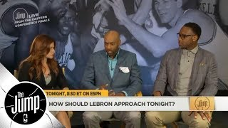 Vince Carter: LeBron James has to 'set the tone' for Cavs from start of Game 2 | The Jump | ESPN