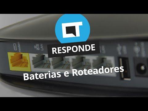 Baterias e Roteadores [CT Responde]