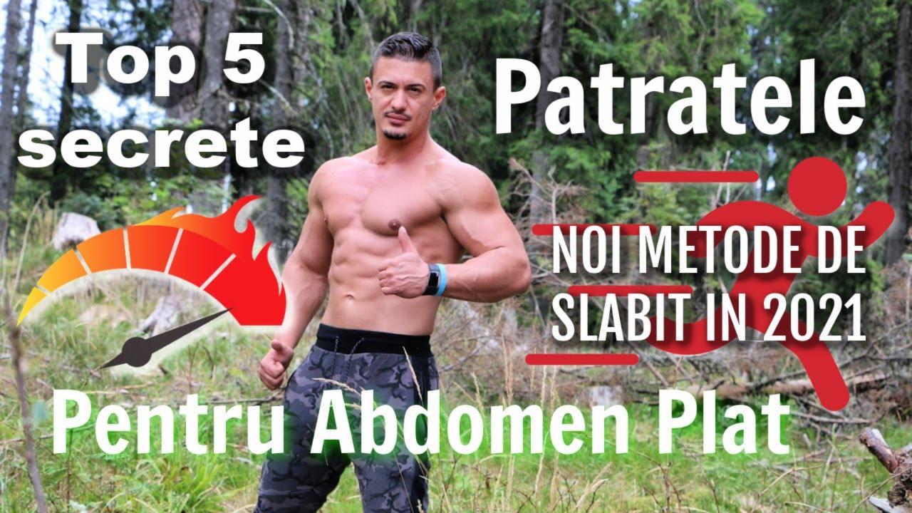 metode de slabit abdominal
