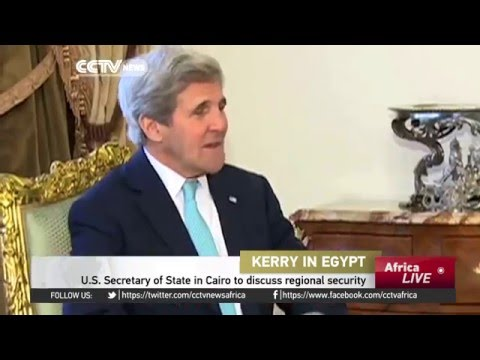 U.S. Secretary of State in Cairo to discuss regional security