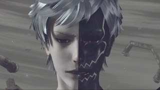 Nier Automata: Eve Final Boss Fight and Ending (1080p 60fps)
