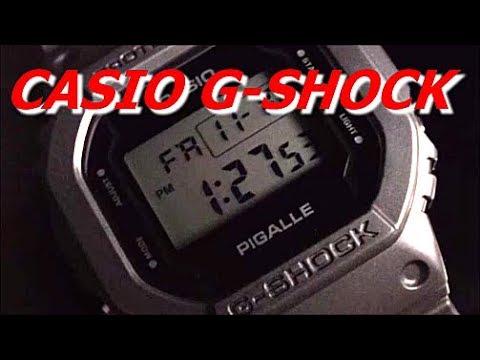 f658e733c1d CASIO G-SHOCK PIGALLEタイアップモデル DW-5600PGB-1JR - YouTube