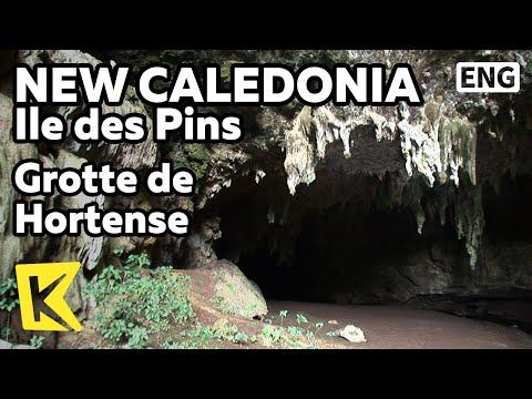 【K】NewCaledonia Travel-Ile des Pins[뉴칼레도니아 여행-일데팽]오르덴스여왕동굴/Grotte de Hortense/Queen Hortense's Cave