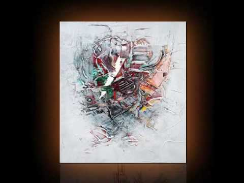 Tableau peinture abstrait naif osso denis youtube for Photo de tableau abstrait