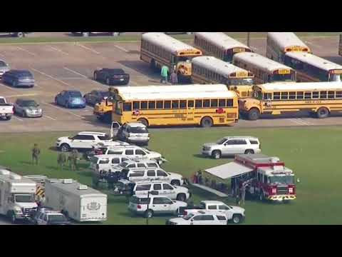 Houston-area media reporting fatalities from school shooting
