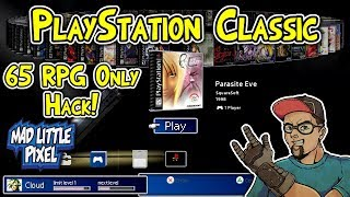 PlayStation Classic 65 RPG Only Game Hack Mod! BleemSync Hack Overview!