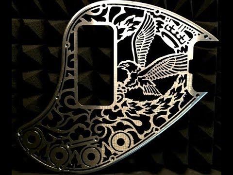 Musicman Stingray 5 H - Alperious Custom Pickguard