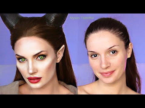 Maleficent Makeup Transformation - Cosplay Tutorial