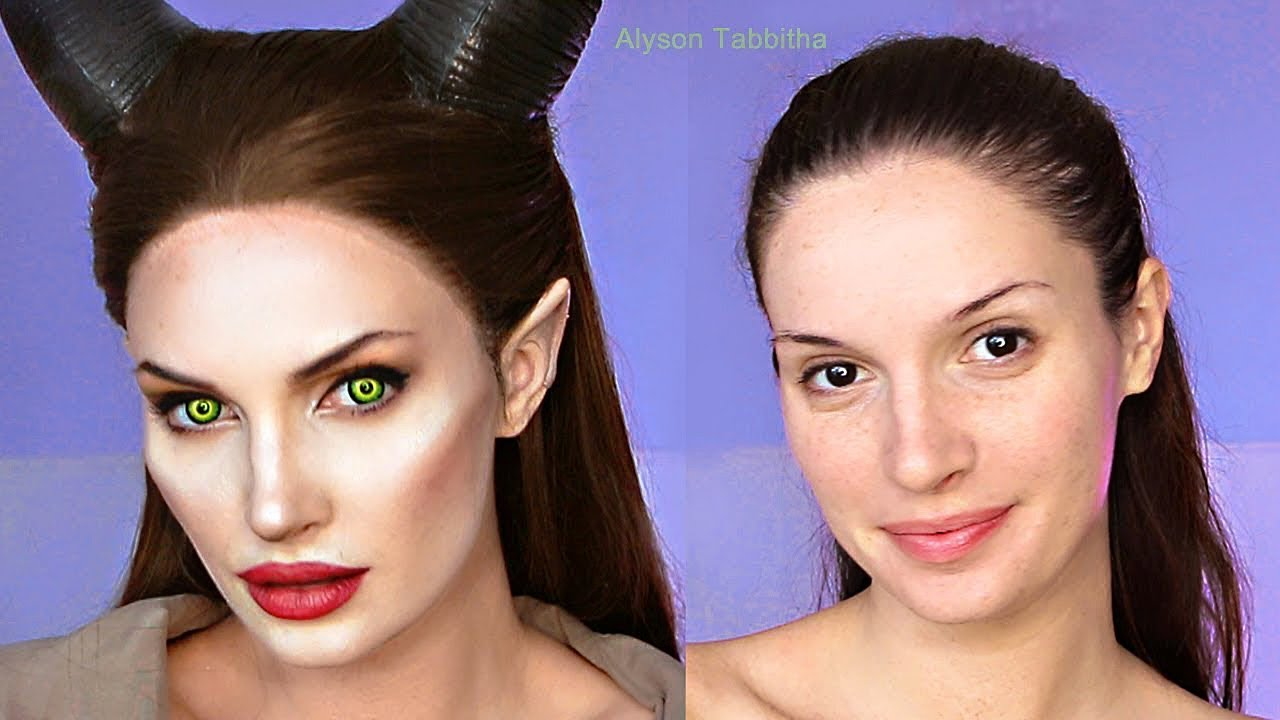 Maleficent Makeup Transformation , Cosplay Tutorial