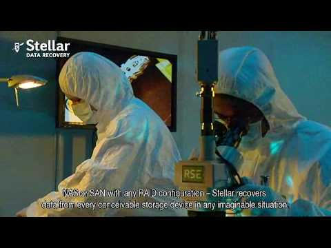 Stellar Data Recovery - Laboratory & Clean Room