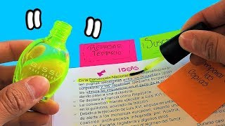 ►  HIGHLIGHTER with a NAIL ENAMEL? || RETURN TO CLASSES || HAUNTERMAKE