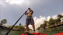 Paddle Boarding in Miami on Biscayne Bay!