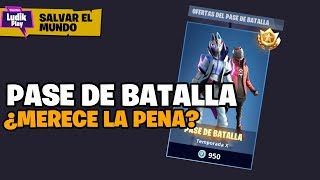 MAINTENANT QUE NOUS AVONS LOCKER, EST-il WORTH THE BATTLE PASS? FORTNITE SAUVE LE MONDE