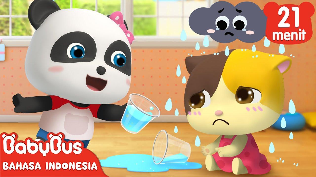 Jangan Selalu Sedih, Bayi Kucing!   Lagu Emosi Anak   Lagu Anak Indonesia   BabyBus Bahasa Indonesia