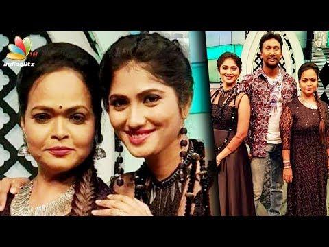 Bigg Boss Julie became an Anchor in Kalaignar Tv | Odi Vilayadu Pappa