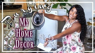 💙Glam Home💙 PURGING HOME DECOR | MY EXTRA HOME DECOR STORAGE