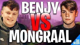 NRG Benjyfishy 1 VS 1 FaZe Mongraal | Creative 1v1 *NRG VS FAZE*