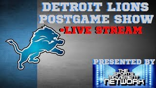 DETROIT LIONS POST GAME SHOW WEEK 11