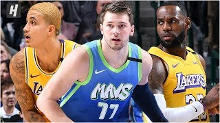 Los Angeles Lakers Vs Dallas Mavericks   Full Game Highlights | January 10, 2020 | 2019 20 Season