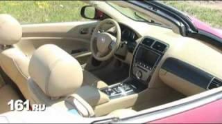 За рулем кабриолета Jaguar XKR: тест-драйв
