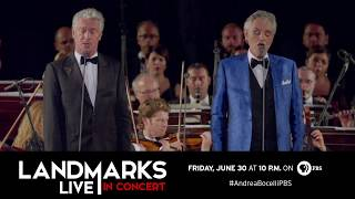 Landmarks Live In Concert: Andrea Bocelli Performs with Gianfranco Montresor