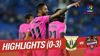 Resumen de CD Leganés vs Levante UD (0-3)