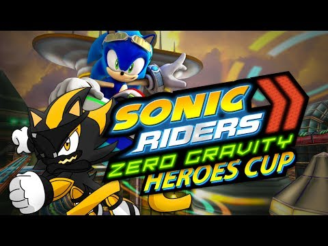 FALLING MY WAY!!! | Sonic Riders Zero Gravity | Heroes Cup
