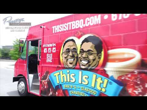 This Is It BBQ Food Truck Built by Prestige Food Trucks