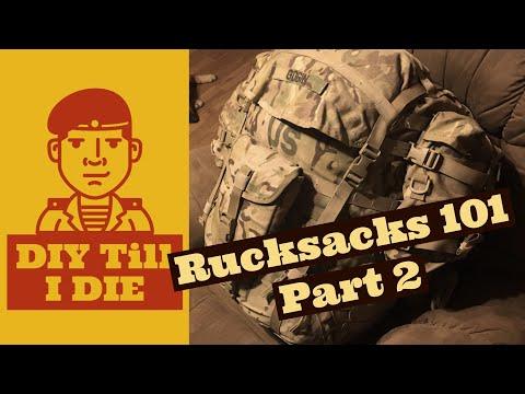 Rucksacks 101 Part 2: Reassembly