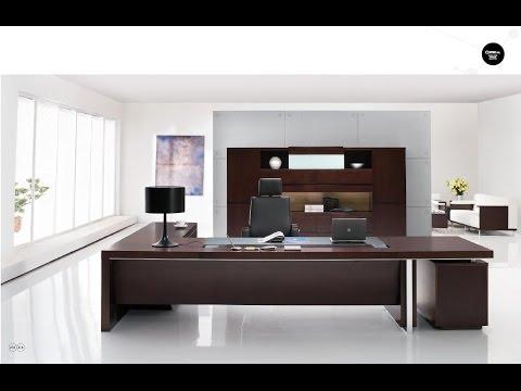 Executive Office Desk Solid Wood Design Ideas