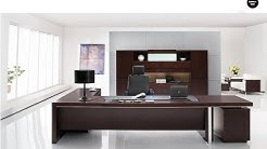 Executive Office Desk Solid Wood Design Ideas
