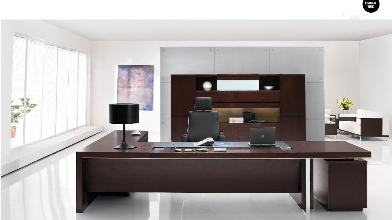 executive office desk solid wood design ideas youtube