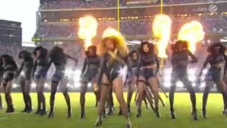 Beyonce Super Bowl 2016 Halftime Show Performance HD #SB50