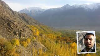 Autumn Season and Beautiful weather at Gilgit Baltistan top hill of Danyore DES Gilgit by Dayanat