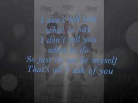You don't own me   The First Wives Club lyrics