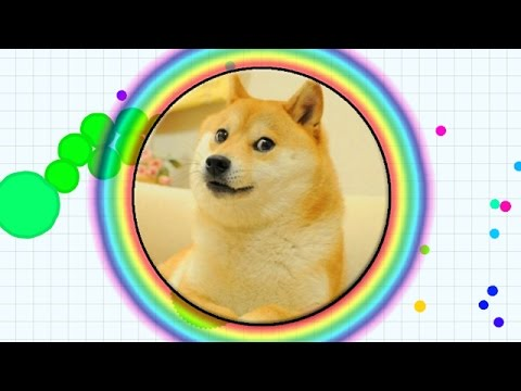 AGAR.IO: THE POWER OF THE DOGE! BEST & BIGGEST DOGE IN THE WORLD (AGAR.IO #1 - MOST FUN GAME EVER)