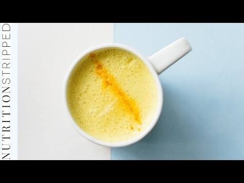 How to Make Turmeric Milk / Golden Milk | Nutrition Stripped