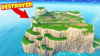 We DESTROYED SPAWN ISLAND in Fortnite Battle Royale thumbnail