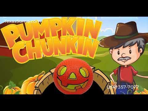 Pumpkin Chunkin - Carnival Game Rental - Dallas, TX