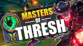 MASTERS OF THRESH | INCREDIBLE FLASH HOOKS MONTAGE | League of Legends