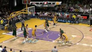 NBA 2k9 gameplay PC version