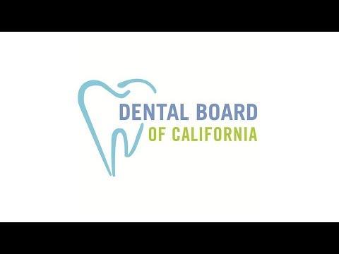 Dental Board of California Meeting -- February 9, 2018