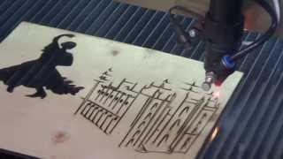 Laser Cut Wood: Salt Lake Temple,china Laser Cutting Machine