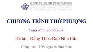HTTL KINGSGROVE (Úc Châu) - Chương trình thờ phượng Chúa - 28/06/2020